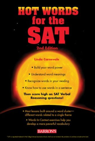 9780764123146: Hot Words for the SAT (Barron's Hot Words for the SAT)