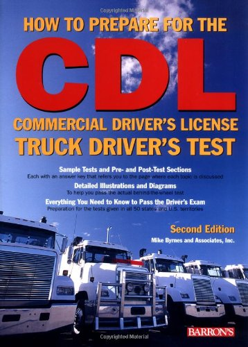 9780764123351: How to Prepare for the Commercial Driver's License Truck Driver's Test (Barron's Cdl Truck Driver's Test)