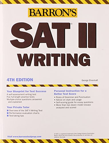 9780764123467: How to Prepare for the SAT II Writing (Barron's How to Prepare)