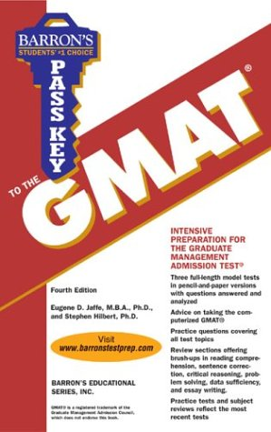 9780764123559: Pass Key to the GMAT (Barron's Pass Key to the GMAT)