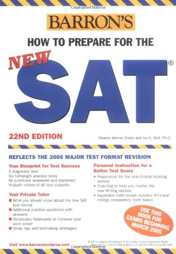 9780764123610: How to Prepare for the New SAT (Barron's SAT)