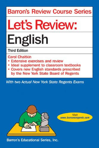 9780764123788: Let's Review English (Let's Review Series)