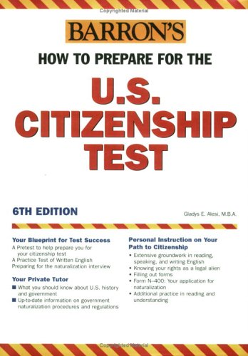 9780764123795: How to Prepare for the U.S. Citizenship Test (Barron's United States Citizenship Test)