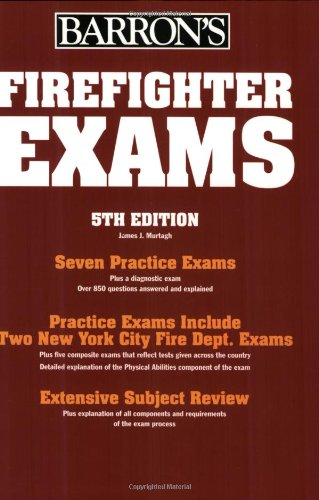9780764124051: Firefighter Exams (Barron's How to Prepare
