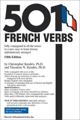 9780764124297: 501 french verbs (501 Verb Series)