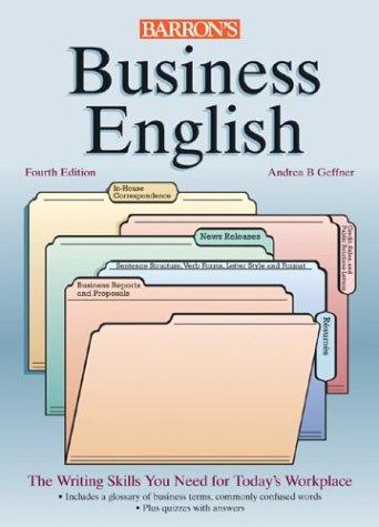 9780764124440: Business English