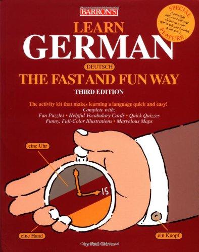 9780764125409: Learn German the Fast and Fun Way (Fast and Fun Way Series)