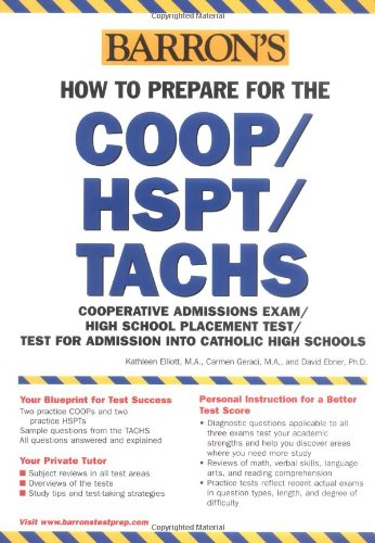 9780764127816: How to Prepare for the COOP/HSPT/TACHS (Barron's COOP/HSPT/TACHS)