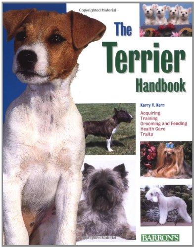 9780764128608: The Terrier Handbook (Barron's Pet Handbooks)