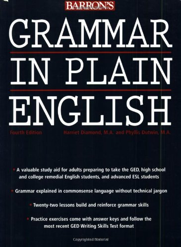 9780764128875: Grammar in Plain English
