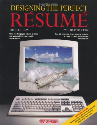 9780764128950: Designing the Perfect Resume