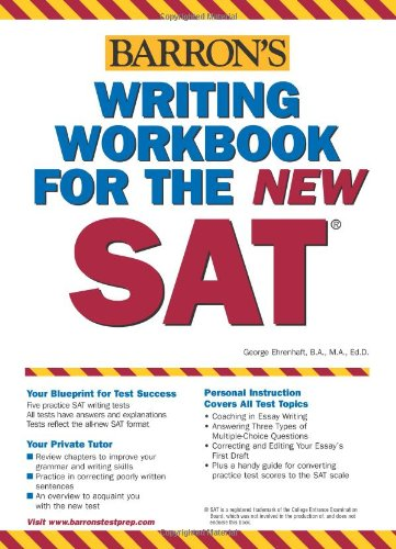 9780764132216: Writing Workbook for the New SAT (Barron's Writing Workbook for the New Sat)