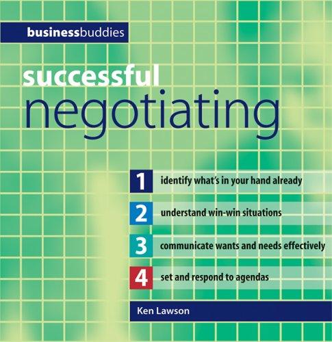 Successful Negotiating (Business Buddies Series): Ken Lawson
