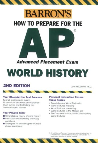 9780764132711: How to Prepare for the AP World History 2007-2008 (Barron's AP World History)