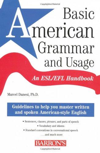 9780764133589: Basic American Grammar and Usage: An ESL/EFL Handbook