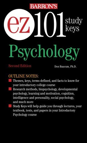 9780764134210: EZ-101 Psychology (EZ-101 Study Keys)