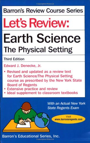 9780764134326: Let's Review: Earth Science-The Physical Setting
