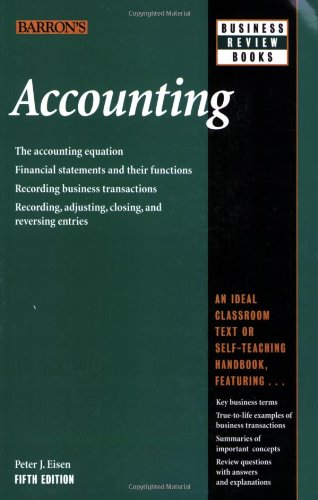 9780764135477: Accounting (Barron's Business Review Series)