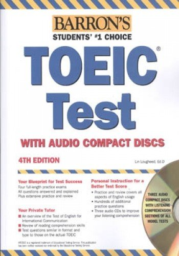 9780764135507: Barron's TOEIC: Test of English for International Communication
