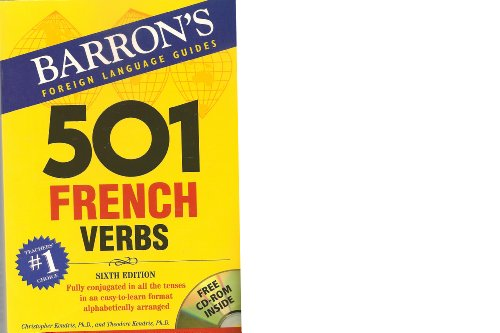 9780764135545: 501 French Verbs, 6th Ed.