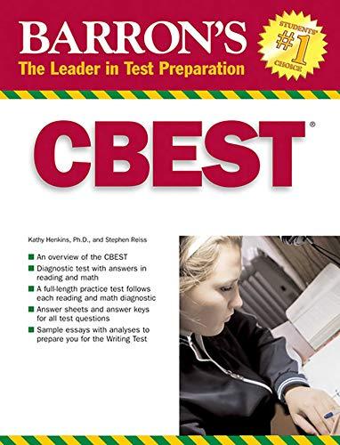 9780764135897: CBEST: California Basic Educational Skills Test (Barron's How to Prepare for the Cbest California Basic Educational Skills Test)