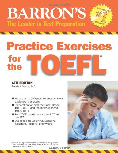 9780764136368: Practice Exercises for the TOEFL (Barron's Practice Exercises for the Toefl)