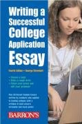 9780764136375: Writing a Successful College Application Essay (Barron's Writing a Successful College Application Essay)
