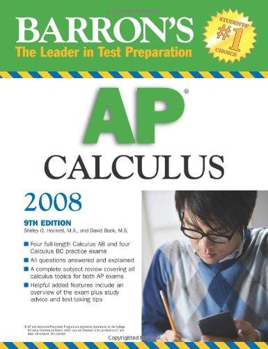 9780764136795: Barron's AP Calculus