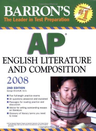 9780764136825: Barron's AP English Literature and Composition 2008