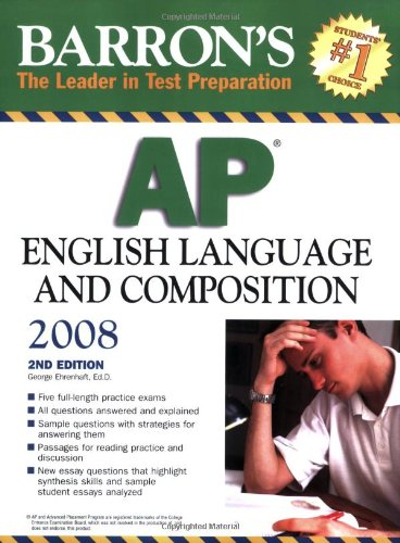 9780764136900: Barron's AP English Language and Composition