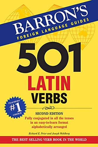 501 Latin Verbs (Paperback): Richard E. Prior