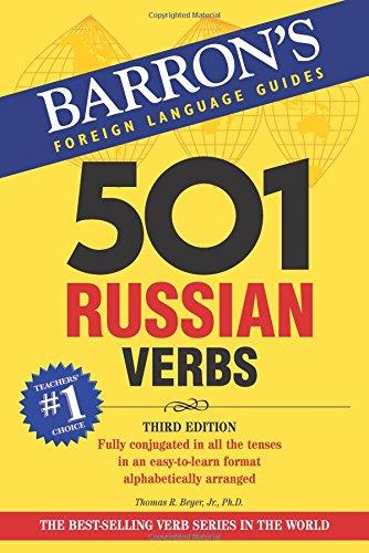 9780764137433: 501 Russian Verbs