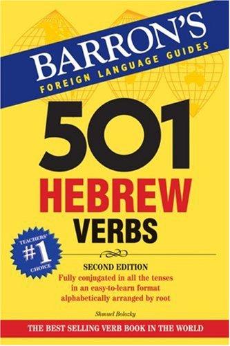 9780764137488: 501 Hebrew Verbs (501 Verbs)