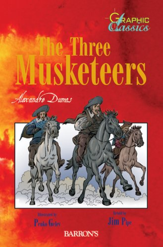 9780764137808: The Three Musketeers (Barron's Graphic Classics)