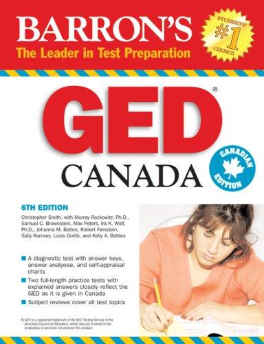 Barron's GED Canada: High School Equivalency Exam: Murray Rockowitz Ph.D.,