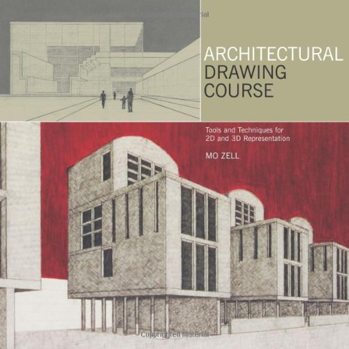 9780764138140: Architectural Drawing Course: Tools and Techniques for 2D and 3D Representation