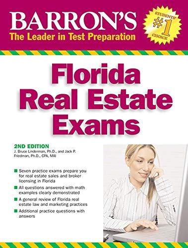 9780764138164: Barron's Florida Real Estate Exams