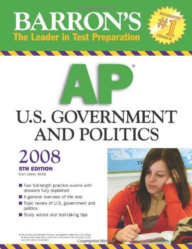 9780764138201: Barron's AP U.S. Government and Politics