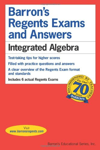 9780764138706: Barron's Regents Exams and Answers: Integrated Algebra