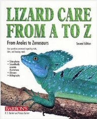 9780764138904: Lizard Care from A to Z: From Anoles to Zonosaurs
