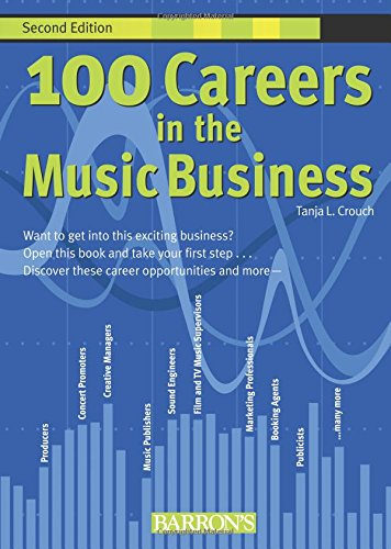 9780764139147: 100 Careers in the Music Business