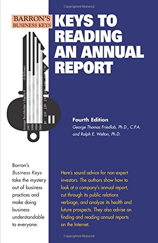 9780764139154: Keys to Reading an Annual Report (Barron's Business Keys)
