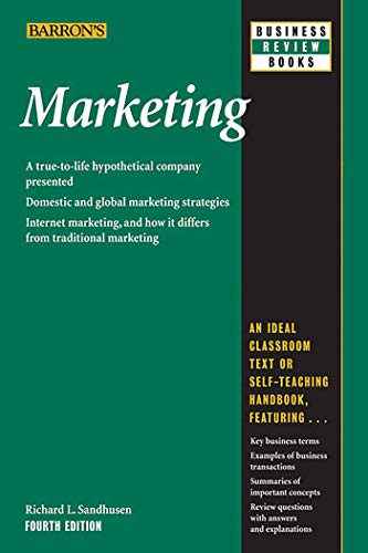 9780764139321: Marketing (Barron's Business Review Sereies)