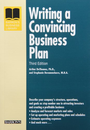 9780764139345: Writing a Convincing Business Plan (Barron's Business Library Series)