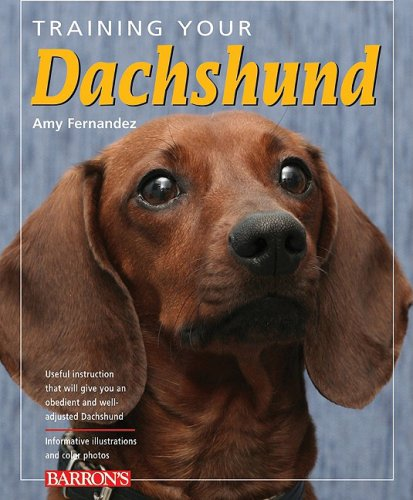 9780764139833: Training Your Dachshund