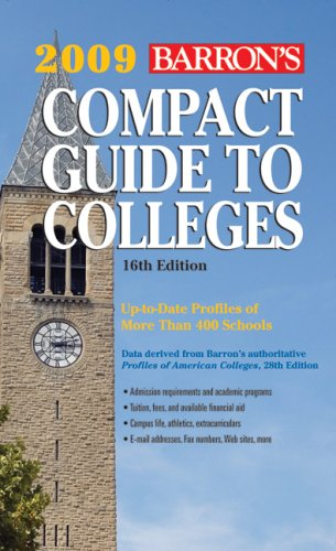 9780764139857: Barron's Compact Guide to Colleges