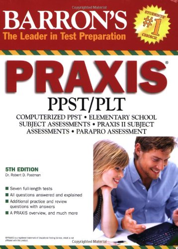 9780764139970: Barron's PRAXIS (Barron's: the Leader in Test Preparation)
