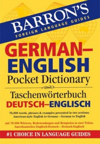 9780764140037: Barron's German-English Pocket Bilingual Dictionary