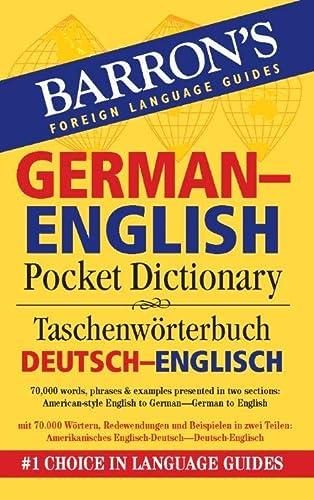 9780764140037: Barron's German-English Pocket Bilingual Dictionary (Barron's Pocket Bilingual Dictionaries)