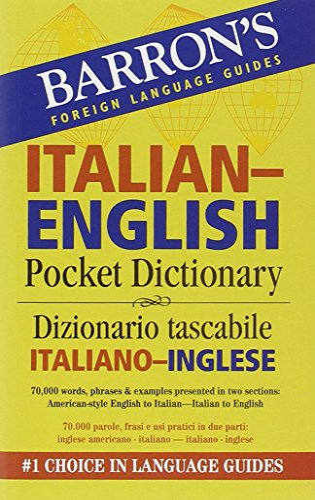 9780764140044: Barron's Italian-English Pocket Bilingual Dictionary (Barron's Pocket Bilingual Dictionaries)
